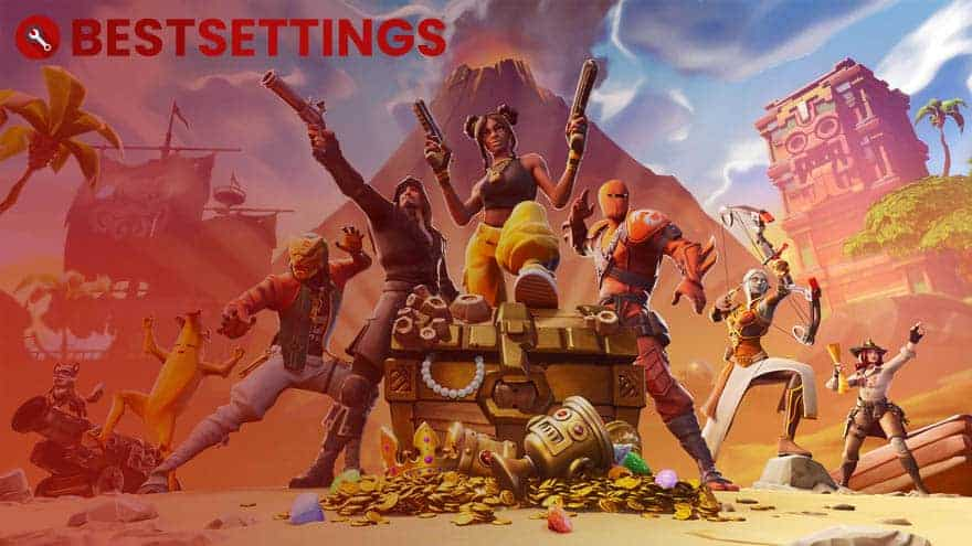 logo Best Settings For Fortnite