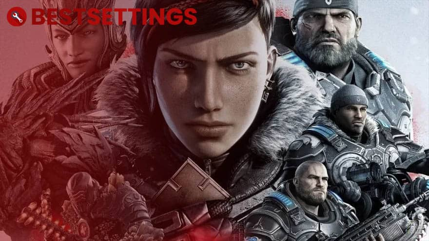 logo Best Settings For Gears 5