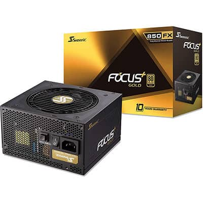 Seasonic Focus Plus 850 Gold Ssr 850fx 850w