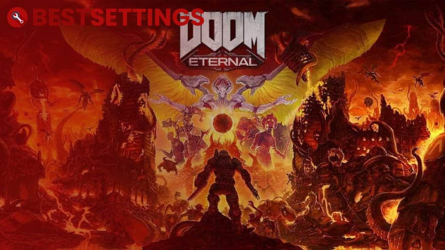 logo Best Settings For DOOM Eternal