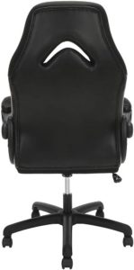 Ofm Essentials Gaming Chair Back Side