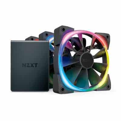 Aer Rgb 2 Fan Starter Kit 3 Pack